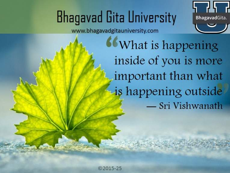 bhagavad gita summary why is god partial to a few people and